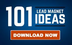 If you want to triple the size of your email list and then convert those new leads into customers, you're going to need lead magnets for every stage of your marketing funnel. Here's a list of 101 ideas to help you out!