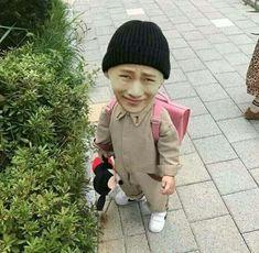 Funny Grumpy Cat Memes, Bts Memes Hilarious, Stupid Memes, Kim Taehyung Funny, Bts Taehyung, Foto Bts, Bts Face, Bts Meme Faces, Blackpink Memes