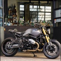 We prefer our bikes 'Shaken not stirred'. Thanks for the photo and Motorcycle Tips, Motorcycle Outfit, Motorcycle Quotes, Cafe Racer Style, Cafe Racer Bikes, Bike Bmw, Racing Motorcycles, Nine T Bmw, Graffiti Pictures