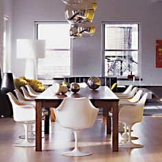 Tulip Arm Chair   For the Holiday Hosts   Holiday Gift Guide   Knoll