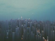 Pixel Sorted City
