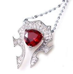 World of Warcraft Horde Necklace Pendant WOW Game Jewelry