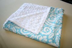 I really, REALLY want to make a minky blanket!!