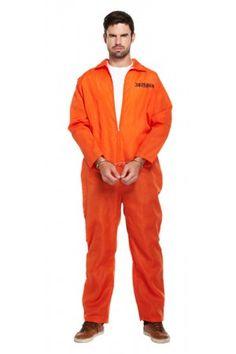 Prisoner Overall Costume