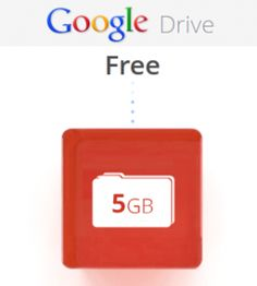 Google Drive is offering 5GB of storage for free