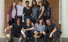 The Walking Dead, Season 7, actors, Norman Reedus, Andrew Lincoln, Lauren Cohan