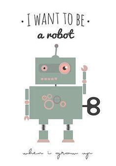 Wiho Design Plakat Robot