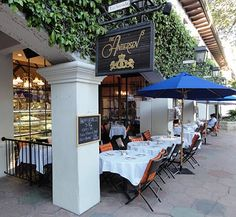 Go to bistros together just for fun!  We loved enjoying Andersen's Bistro in Santa Barbara, CA.