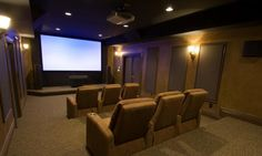 home theatres are a must have..