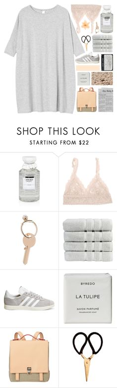 """""""-don't let them dim your light-"""" by nsrogsy3 ❤ liked on Polyvore featuring Creed, Hanky Panky, Maison Margiela, Christy, adidas, Byredo, Proenza Schouler, Madam Stoltz, Monki and tbotcs"""
