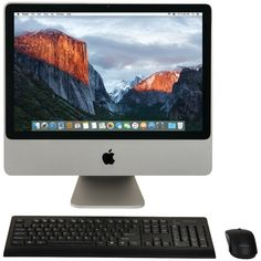 Apple 20' Refurbished Imac Desktop Computer