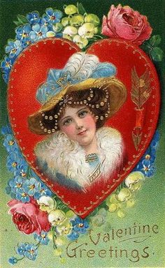 free vintage victorian valentine postcards - Bing images Valentine's Working day is considered among my favourite situations to share with my family member Valentine Images, My Funny Valentine, Vintage Valentine Cards, Vintage Greeting Cards, Vintage Holiday, Valentine Day Cards, Vintage Postcards, Happy Valentines Day, Free Postcards