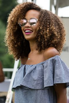 Curly Girls - 28 Must-See Hair Moments From Curlfest 2017