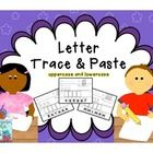 "This set contains 55 pages and is apart of how I teach the alphabet in kindergarten. As I teach each letter of the alphabet, I introduce the ""trace..."