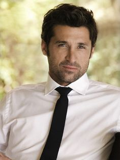 Patrick Dempsey.....Perfect example of getting better with age!