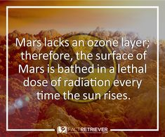 Radiation is daily part of Mars