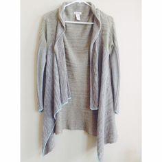 Sundance Catalog Gray Waterfall Cardigan | Light blue, Linens and ...