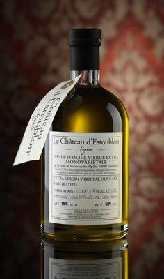 Apothicaire Bottle, 50cl, Grossane | Olive oils | Château d'Estoublon - Le Château d'Estoublon