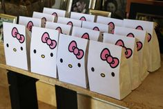 Hello Kitty Party Gift Bag Printable for Party Gift by GAZParties