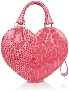Vivienne Westwood Rosa Chancery Heart Bag in Pink Pretty In Pink, Pink Love, Hot Pink, Vivienne Westwood, Fashion Handbags, Purses And Handbags, Ladies Handbags, Pink Handbags, Zapatos Shoes