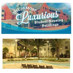 Who said campus housing has to be basic or boring? Our on-campus residence hall, Osprey Fountains, was just named the #2 Most Luxurious Student Housing Buildings according to bestcollegevalues.com! Maybe you'll be lucky enough to live here next year.