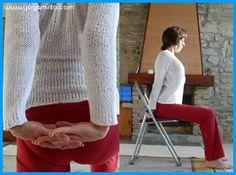 2 comment faire du yoga sur une chaise et en finir avec le for Assis sur une chaise