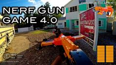 Nerf meets Call of Duty׃ Gun Game 4.0 | First Person on Nuketown