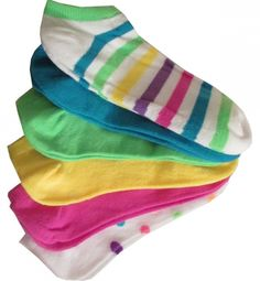 Check out our Assorted Bright Colors K Bell Ladies Golf Sport Socks 6 Pack Combo! Find the best golf gear and accessories at Lori's Golf Shoppe. Click through now to see this!