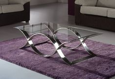 Discover thousands of images about House of Hampton Gilda Coffee Table Iron Furniture, Table Furniture, Furniture Design, Metal Dining Table, Steel Table, Glass Top Coffee Table, Glass Table, Table Inox, Tea Table Design