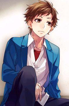 Koi, Anime Amor, Anime Guys, Manga Boy, Manga Anime, Zutto Mae Kara, Honey Works, Boy Character, Pretty Art