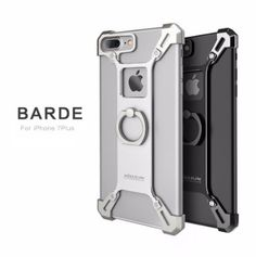 Nillkin Metal Cases for iPhone 7 Plus Barde Metal Case With Ring Kickstand Full Back Cover for Apple iPhone 7 Plus Case Luxury