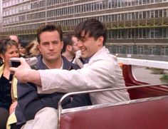 you every time i try to take a picture with you (Rod would be Chandler; I would be Joey.)