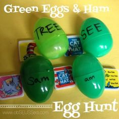 obSEUSSed: Green Eggs and Ham Egg Hunt
