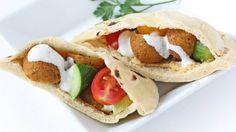طريقة عمل سندويش فلافل ولا أشهى - Delicious falafel #sandwich #recipe