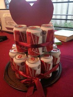 Valentines Day Cake for men