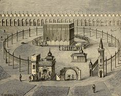 OTTOMAN HIJAZ ARABIA (82) Islamic Images, Islamic Pictures, Islamic Art, Masjid Haram, Mecca Masjid, Mecca Wallpaper, Islamic Wallpaper, Mecca Images, Mecca City