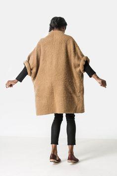 Love this oversized cozy jacket.