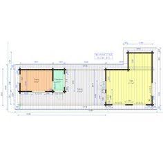 Sauna Kuikka Floor Plans, Home, Ad Home, Homes, Haus, Floor Plan Drawing, House Floor Plans, Houses