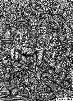 Mahakal Shiva, Shiva Statue, Shiva Art, Krishna Art, Hindu Art, Lord Shiva Hd Wallpaper, Lord Vishnu Wallpapers, Spiritual Paintings, Lord Shiva Hd Images