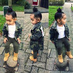 Cute Mixed Babies, Cute Black Babies, Cute Babies, Cute Kids Fashion, Little Girl Fashion, Toddler Fashion, Cute Little Girls Outfits, Kids Outfits, Baby Outfits