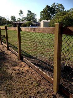 75 Easy Cheap Backyard Privacy Fence Design Ideas Nice 75 Easy Cheap Backyard Privacy Fence Design I Patio Fence, Backyard Privacy, Farm Fence, Diy Fence, Backyard Fences, Backyard Landscaping, Landscaping Ideas, Front Yard Fence Ideas, Fenced In Backyard Ideas