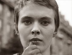 """Jean Seberg in """"À bout de souffle"""" (1960)"""