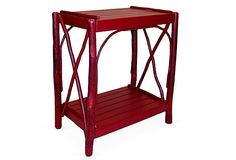 Rustic...may work in studio! Double Cross Table, Red on OneKingsLane.com