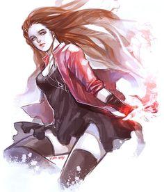 The Scarlet Witch Wanda Maximoff Arte Dc Comics, Marvel Comics Art, Marvel Girls, Marvel Heroes, Marvel Characters, Marvel Movies, Marvel Avengers, Marvel Universe, Wanda Marvel