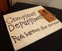 complaint department!!!! xaxa so funny