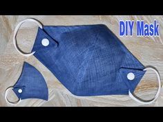 Diy Sewing Projects, Sewing Projects For Beginners, Sewing Hacks, Sewing Tutorials, Sewing Crafts, Reuse Old Clothes, Diy Clothes, Easy Face Masks, Diy Face Mask