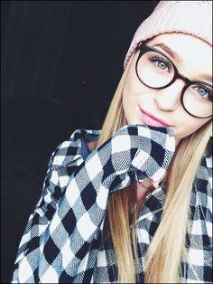 duze czarne okragle okulary