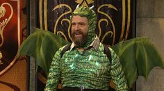 Zack Galifinakis Competes on TV Trivia Show 'Game of Game of Thrones' on Saturday Night Live