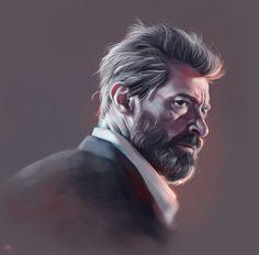 Logan, Hugh Jackman, fan art wallpaper