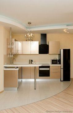 #Kitchen of the Day: Modern Beige Kitchens.